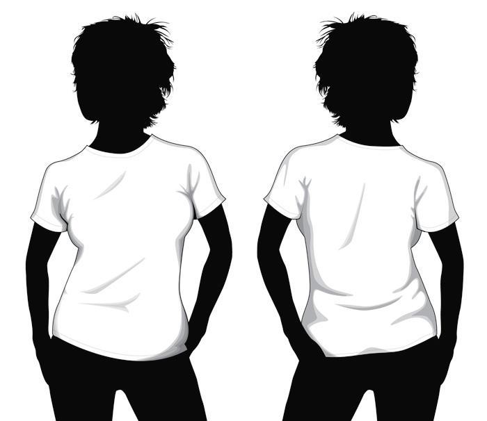 Vector T-shirt Template by JovDaRipper on DeviantArt - t shirt template