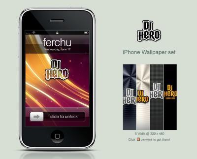 DjHero iPhone Wallpaper Set by Ferchu on DeviantArt