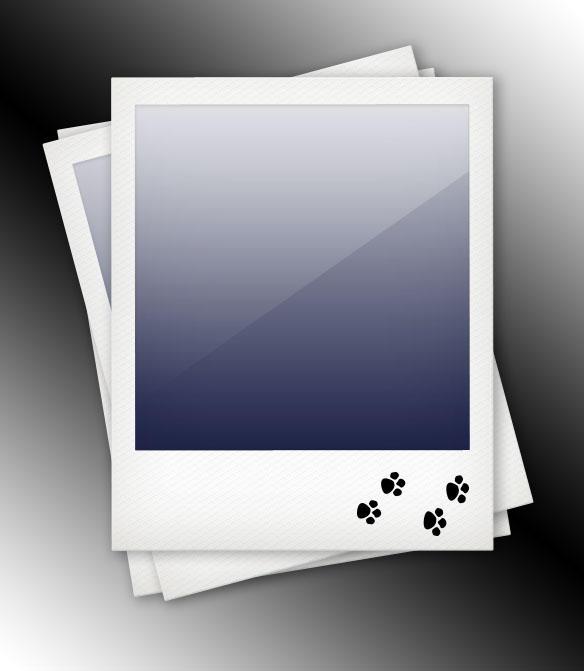 Polaroid Template by datamouse on DeviantArt