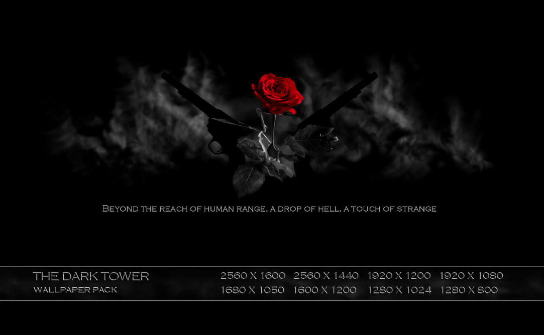 Cartoons Wallpapers With Quotes The Dark Tower Wallpaper By Nite Antix On Deviantart