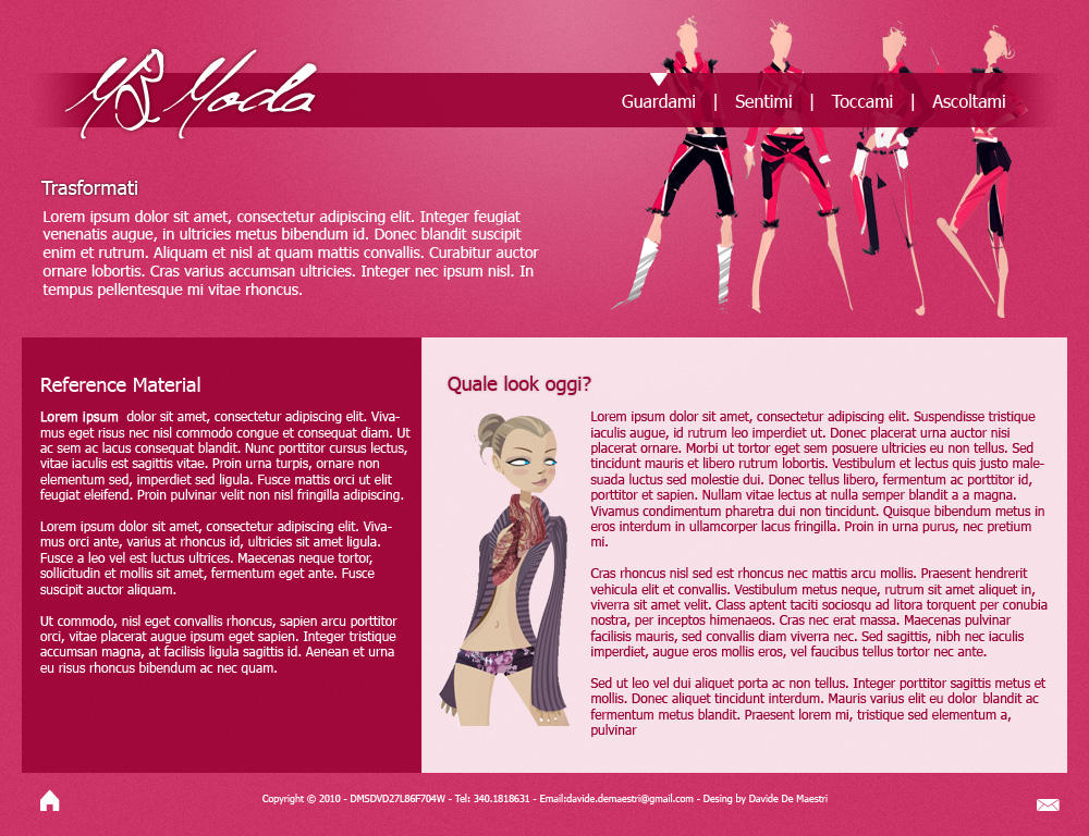 Moda and Fashion Simple Layout by gleenk on DeviantArt