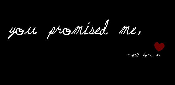 Lit Quotes Wallpaper You Promised Me By Kitty Luvs Art On Deviantart