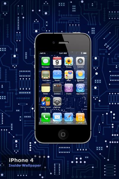 iPhone 4 Inside Wallpaper by Martz90 on DeviantArt