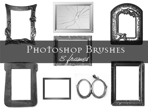 Frame Photoshop brushes by Lileya on DeviantArt