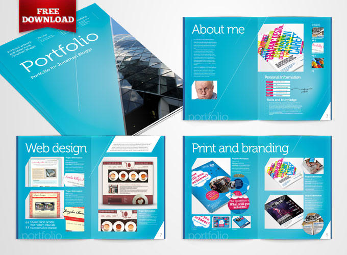 Free InDesign Portfolio Template by CRS-InD-Templates on DeviantArt - free indesign template