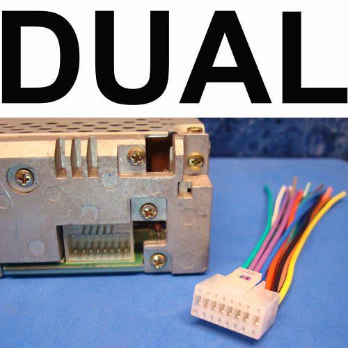 √ dual in dash radui 16 pin wire harness power plug xdvd700 dual 20 pin wiring harness dual model cd770 wiring harness #12