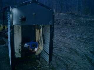 Aqua Therm Outdoor Wood Boiler Stove Furnace Heatmor