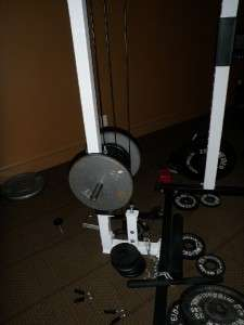 York Power Cage Rack Home Gym Squat Smith Machine Weight