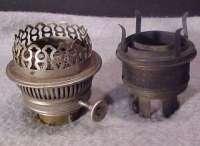 Mason JAR OIL Lamp Burner Chimney Holders Turn Mason Jars ...