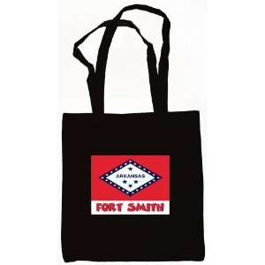 Fort Smith Arkansas Souvenir Te Bag Black Everything Else