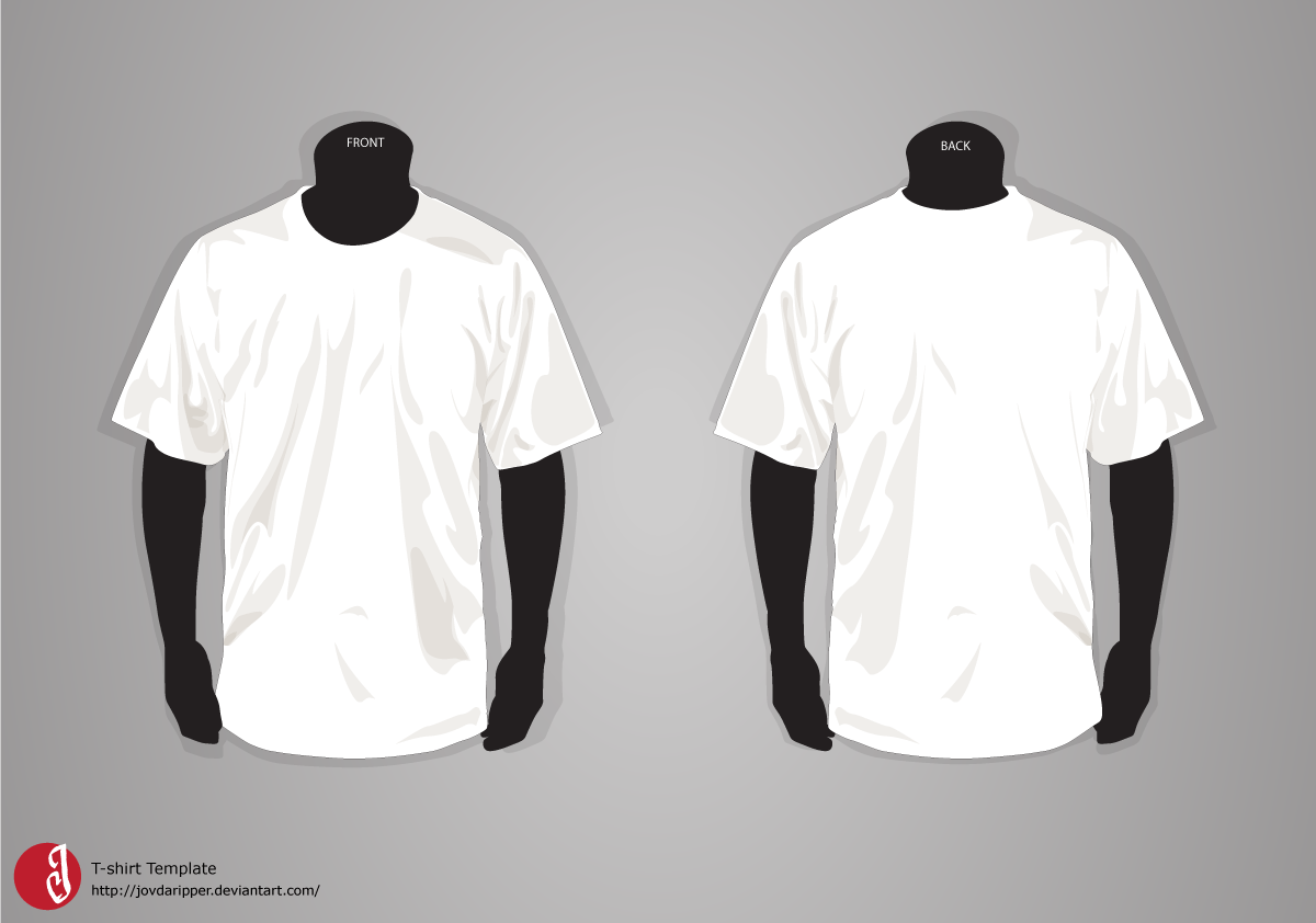 Black t shirt vector free - Black T Shirt Vector Template T Shirt Template Update By Jovdaripper Download