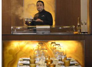 Chef Manish Mehrotra at Indian Accent, New Delhi (Image courtesy: Indian Accent)