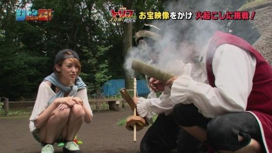 【放送事故エロ画像】地上波放送で女の子たちが完全にやってしまっているハプニング画像を集めてみました 12
