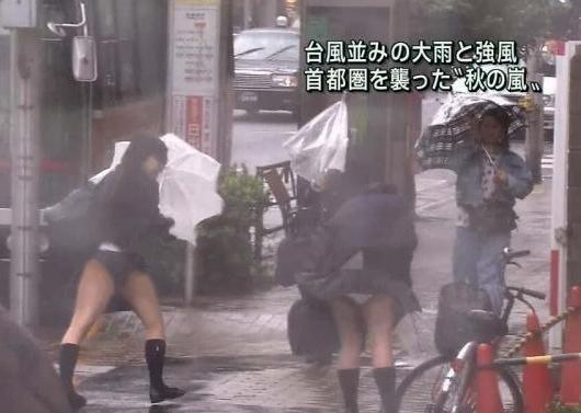 【ハプニング画像】ふわっと風が吹いた瞬間、ふわっとスカートがめくれ上がる! 12