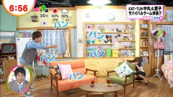 【放送事故画像】お姉ちゃんパンツ見えてる~wテレビにはっきり映ったパンチラ画像! 01
