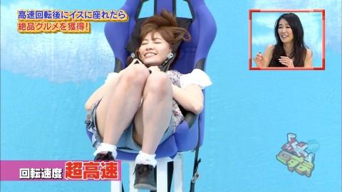 【放送事故画像】お姉ちゃんパンツ見えてる~wテレビにはっきり映ったパンチラ画像! 15
