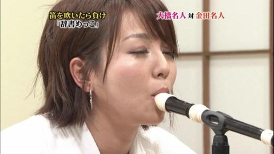 【放送事故画像】カメラの前で舐めたり咥えたり!エロい顔な満載ww 13