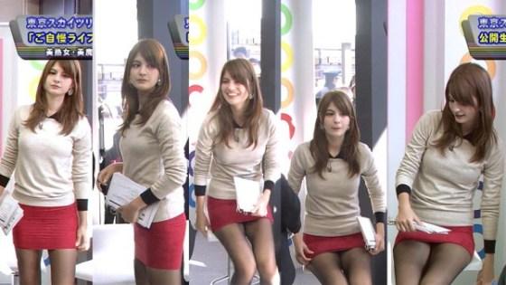 【放送事故画像】ん~パンツが見えてるような見えてないような・・・ 08