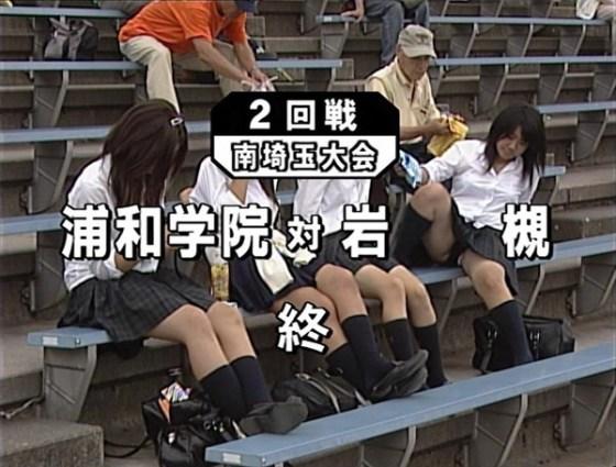【放送事故画像】甲子園始まったし応援席のハプニング画像うPするわ! 03