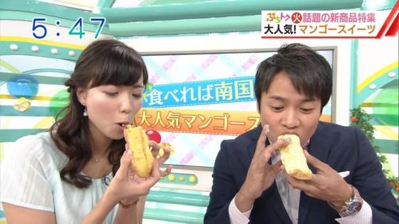 【擬似フェラ画像】エロい顔してカメラの前で食レポしてるタレント達に思わず股間が反応www 09