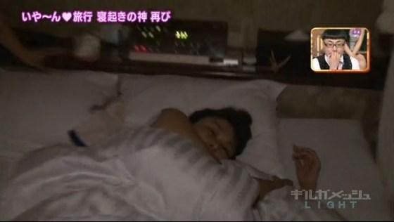 【寝顔キャプ画像】思わず夜這いでも仕掛けたくなるような、女子アナやアイドルの可愛い寝顔ww 08