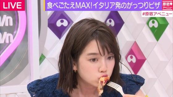 【擬似フェラキャプ画像】やらしいフェラ顔で食レポしちゃうドスケベな女子アナやアイドル達ww 18