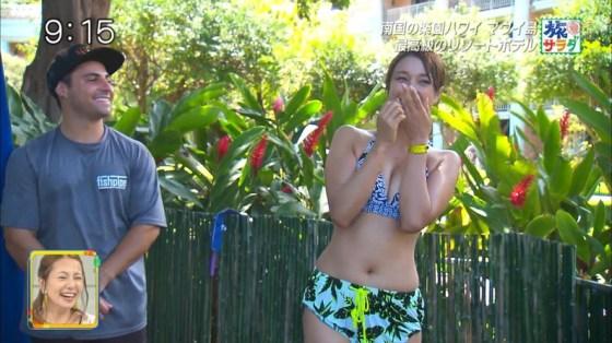 【水着キャプ画像】今年の夏も露出度高めの水着美女達がテレビに映ってオッパイ強調しまくりんごww 21