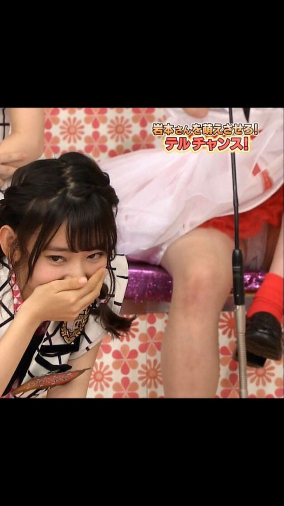 【パンチラ放送事故画像】女子アナやアイドルの見えてはいけない領域が見えた瞬間!! 12