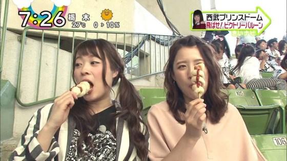 【擬似フェラキャプ画像】女子アナやアイドルのフェラ顔が映される食レポってじわじわ来るなwww 08