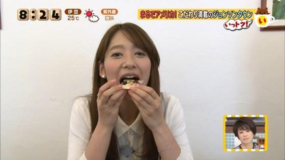 【擬似フェラキャプ画像】女子アナやアイドルのフェラ顔が映される食レポってじわじわ来るなwww 13