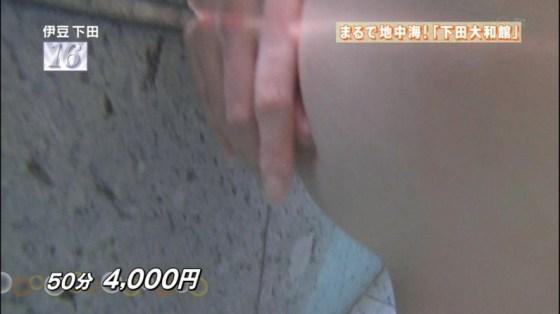 【温泉キャプ画像】バスタオル一枚でテレビに出ちゃうタレント達の身体のシルエットがエロすぎww 19