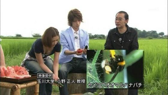 【胸ちらキャプ画像】最近のテレビではオッパイは見せる物だと考えてるタレント達ww 17