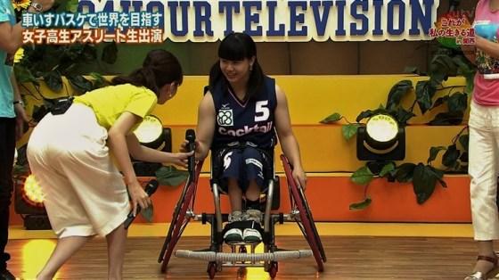 【お尻キャプ画像】ピタパン履いたタレント達がテレビでエロいお尻強調し過ぎww 09