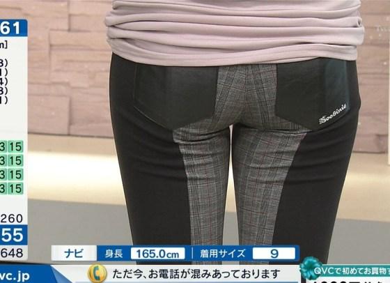 【お尻キャプ画像】ピタパン履いたタレント達がテレビでエロいお尻強調し過ぎww 20