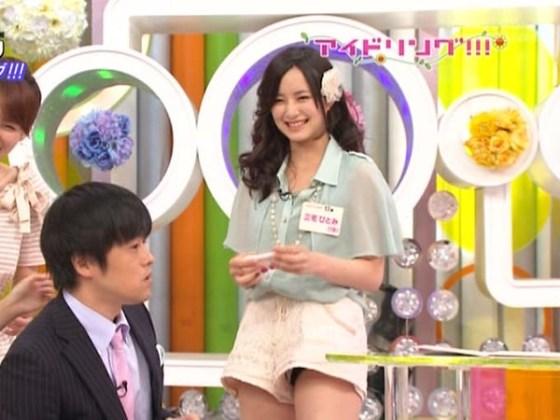 【放送事故画像】パンツ見てほしいらしく、テレビにまでパンツを晒す女達ww 13