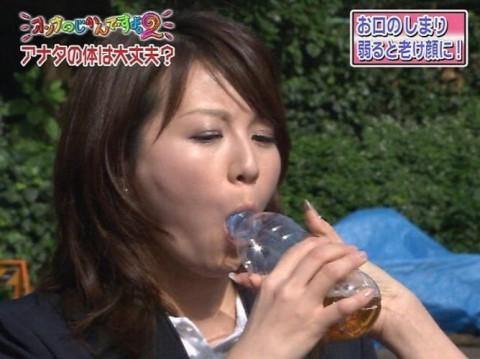 【放送事故画像】テレビで大口開けてやらしく食べてるその表情に勃起しましたww 08