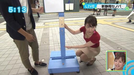 【放送事故画像】テレビで映るオッパイが巨乳で美乳すぎて思わず抜きたくなるww 12