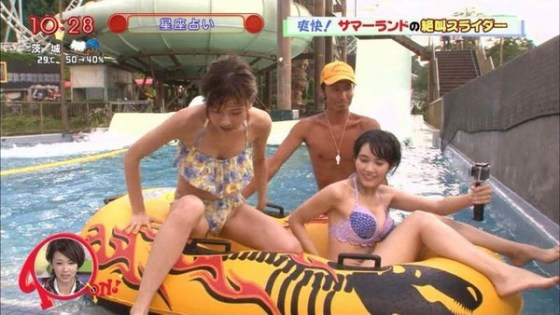 【放送事故画像】最近の水着って小さすぎないか?しかもそれをテレビに映すってwww 11