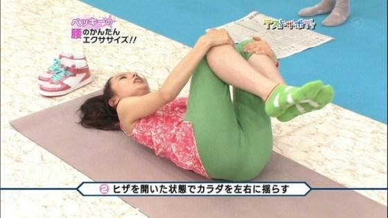 【放送事故画像】マンコに食い込んでマンコの形もマンコの割れ目も丸わかりですよwww 08