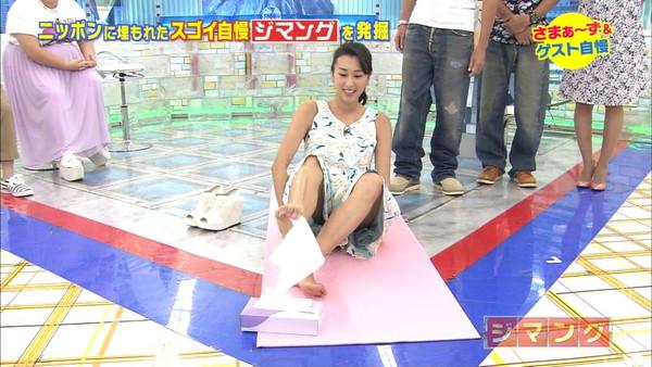 【放送事故画像】テレビに映るスカートの中をよ~く覗いて見てごらんwww 12