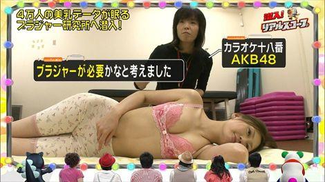 【放送事故画像】テレビに映る窮屈そうなオッパイをこの手で開放してあげたいwww 19