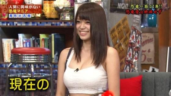 【放送事故画像】素人もアイドルもオッパイでかけりゃテレビに映れるってか?www 09
