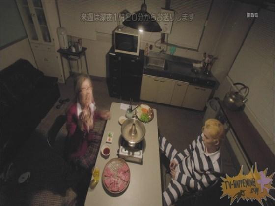 【お宝エロ画像】監獄学園第3話!脱衣シーンで女の下着姿映りまくりww 36