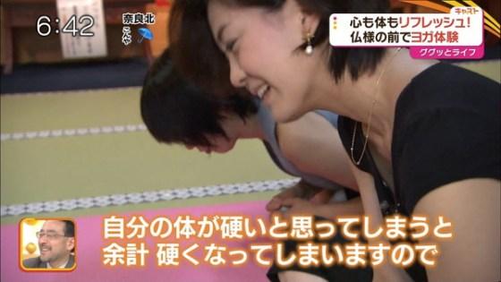 【放送事故画像】ヨガとかストレッチやってる女がエロい体制で誘惑してるとしか思えないwww 11