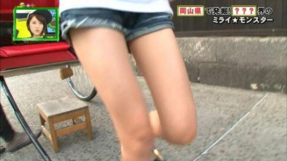 【放送事故画像】パンストの脚もいいけど、俺はやっぱり生足が好きww 14