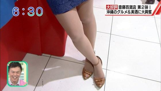 【放送事故画像】パンストの脚もいいけど、俺はやっぱり生足が好きww 17