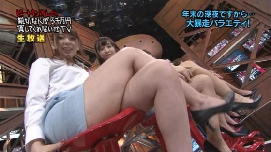 【放送事故画像】こんな太ももで膝枕とかされたらいい夢見れるだろうなぁwww