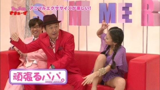 【放送事故画像】テレビでパンツ見えてようが別に平気な女達www 09