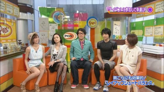 【放送事故画像】テレビでパンツ見えてようが別に平気な女達www 22