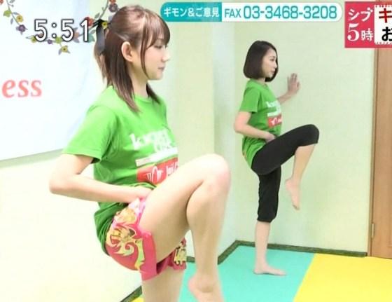 【放送事故画像】全体的に見たら綺麗な足だけど太ももだけ見たらエロくない?ww 08